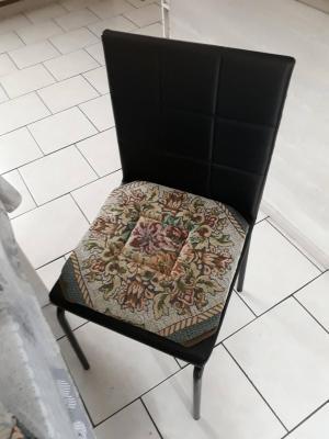 Lot de 4 Dessus de chaise 50x50 Tapisserie - 6095