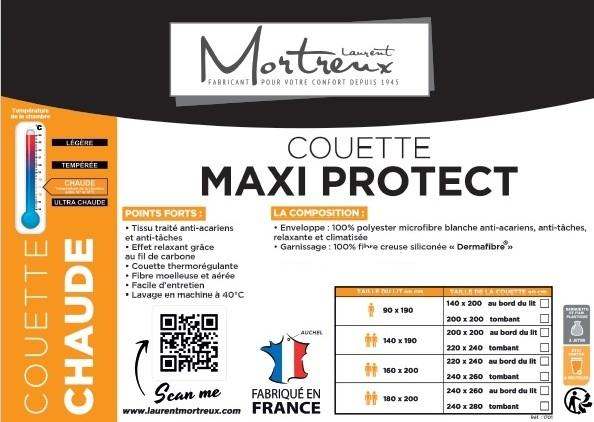 Couette maxi protect