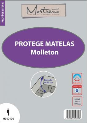 Protège Matelas Molleton 90X190 - 5700