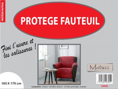 Protège Fauteuil 1 place Cerise - 6317/6305