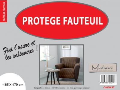 Protège Fauteuil 1 place Chocolat- 6299/6311