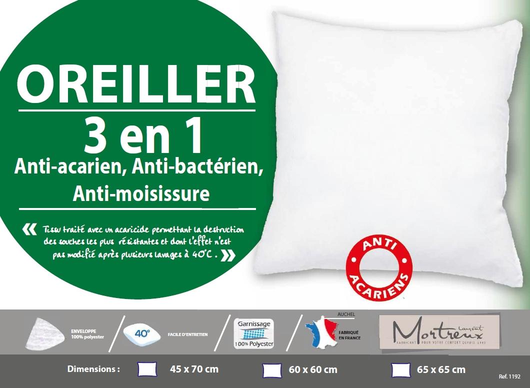 Oreiller 3en1