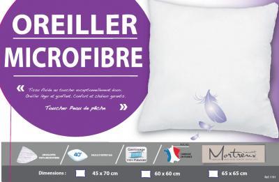 Oreiller blanc Moelleux - 13102