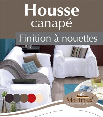 Housse Canapé Taupe - 6126-2