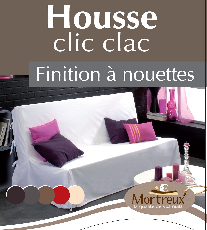 Ref housse clic clac