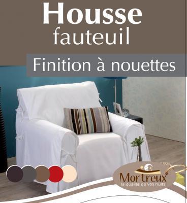 Housse Fauteuil Ivoire - 6130